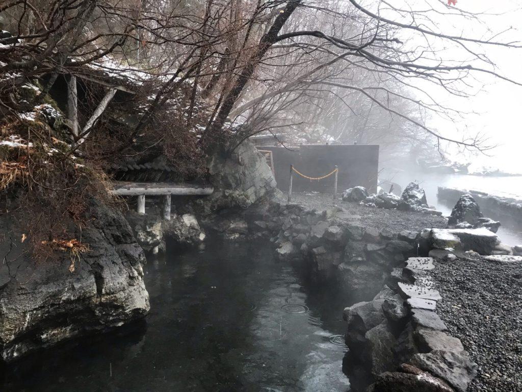 丸駒温泉旅館露天風呂