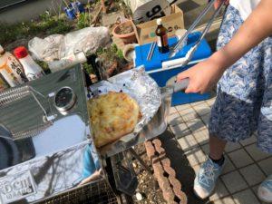 コンパクトピザオーブン実践