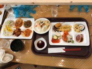 定山渓ホテルの夕食ビュフェ