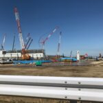 ファイターズ新球場建設工事の様子2021/04/20と札幌ドームでファイターズ観戦2021/04/24