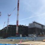 建設中!ファイターズ新球場「北海道ポールパーク」工事の様子2021/04/02