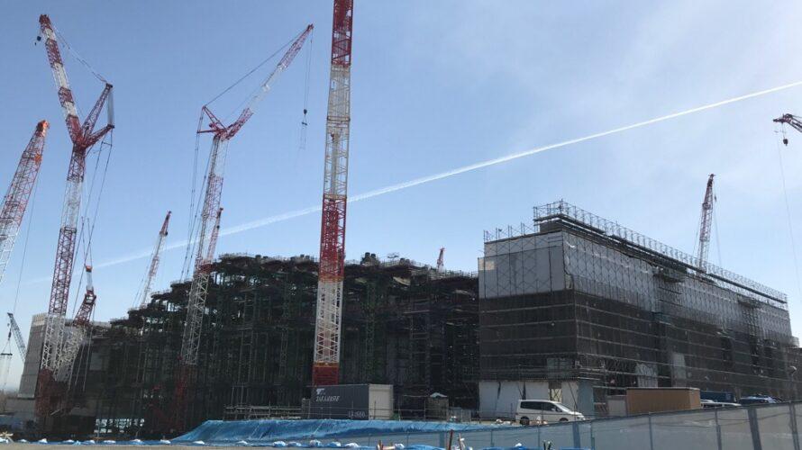 建設途中北海道ボールパーク_20210402_1