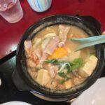 札幌Bグルメにはちょっと遠いけど、三笠市 まんぷく食堂;「ホルモン鍋定食」空知サラリーマンランチ、サラメシ