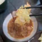 札幌清田区の「天ぷら家 てんてん」でGW終盤お昼に天ぷらをいただく