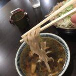 札幌そば「手打 入福」でメニューに無い「つけ麺」をいただく、札幌サラリーマンランチ、サラメシ、札幌B級グルメ