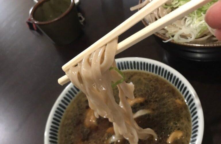 入福_かしわつけ麺の麺