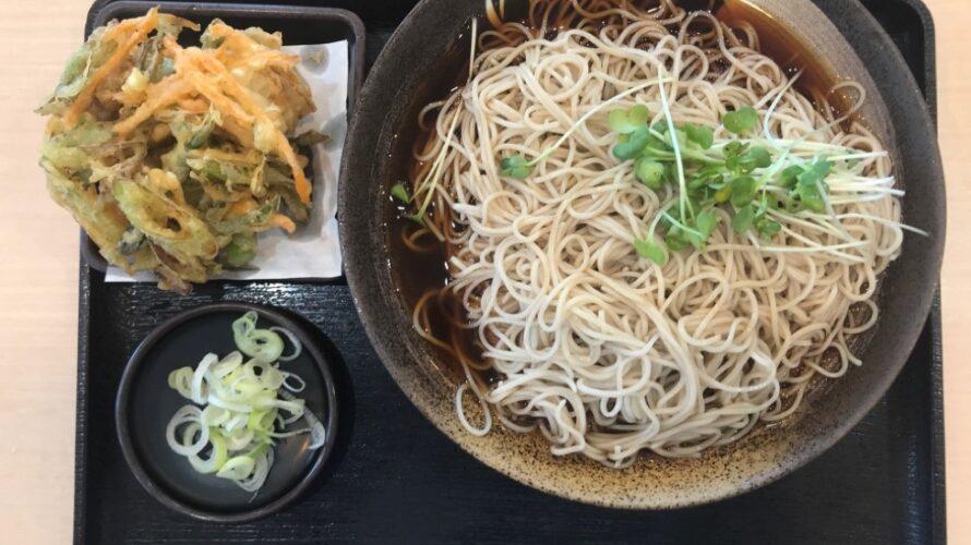 札幌お蕎麦「ゆで太郎 東雁来店 」札幌サラリーマンランチ、サラメシ