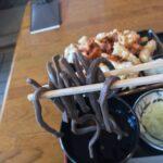 超田舎そば「続八条庵」でごそちくをいただく、札幌のお蕎麦屋さん、サラリーマンランチ、サラメシ、札幌B級グルメ