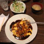 札幌すすきのサラリーマンランチ、サラメシ「居酒商 古典家」のランチ「チーズオムライス」、札幌B級グルメ
