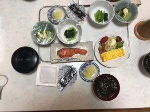 民宿_弁天_朝食