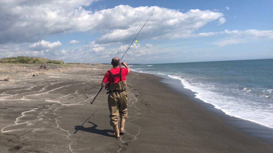 4年ぶりに鮭釣りにいって来ました。白老方面はまだちょっと早かった???でも、連れは見事GET!!してました。